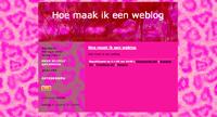 Hoe maak ik een weblog