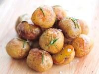 Hoe pof ik aardappels