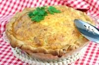 Hoe bak ik een Quiche Lorraine