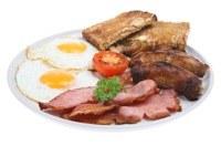 Hoe maak ik een Engels ontbijt