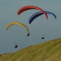 Hoe vind ik een goede paragliding-uitrusting