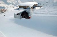 Hoe snowboard ik in een halfpipe